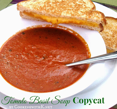 la Madeleine' Tomato Basil Soup Copycat