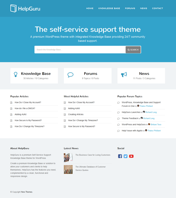 ask-website-template