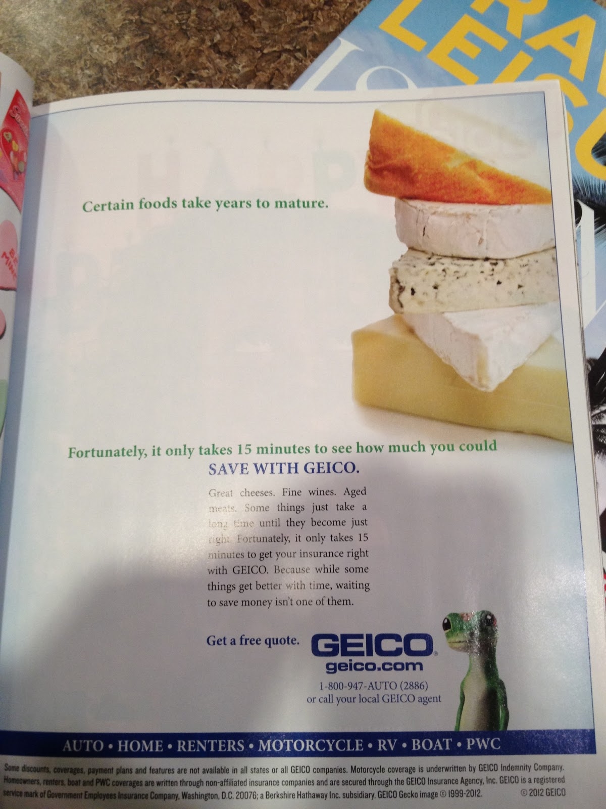 MEDC Media and Culture GEICO Print Ad Sports Illustrated
