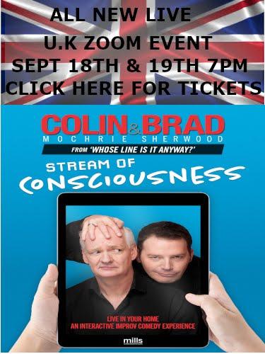 Colin and Brad Live!