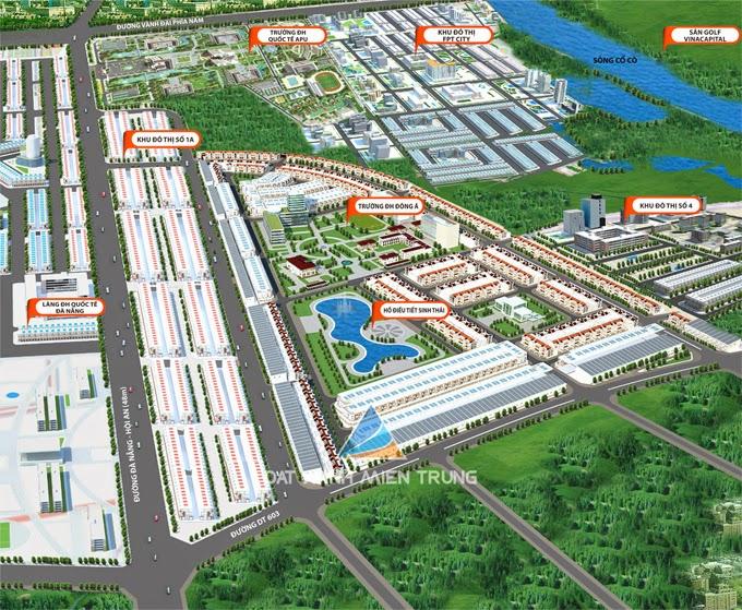 Phối cảnh tổng thể dự án khu đô thị số 3