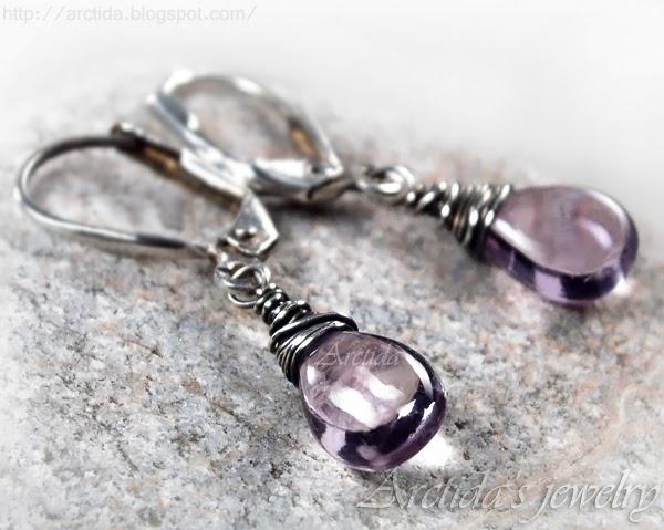 http://www.arctida.com/en/minimalism/29-pink-amethyst-earrings-oxidized-sterling-silver-alina.html
