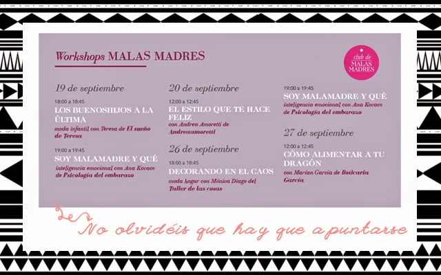 Workshops Malas Madres