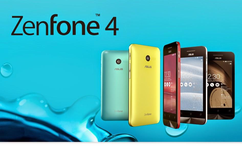 smartphone giá rẻ dưới 2 triệu Asus zenfone 4