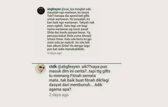 'Fans' Shila Amzah Sanggup Fitnah Dato Siti Nurhaliza?