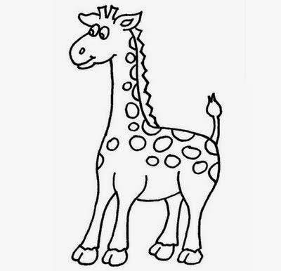 imagens para colorir girafa - Desenhos de Girafas para colorir jogos de pintar e imprimir