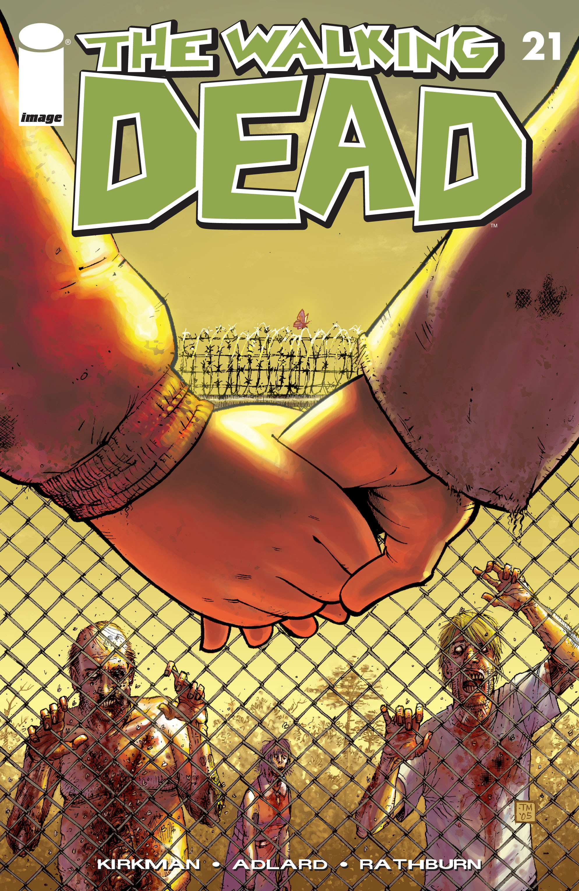 The Walking Dead Issue #21 Page 1
