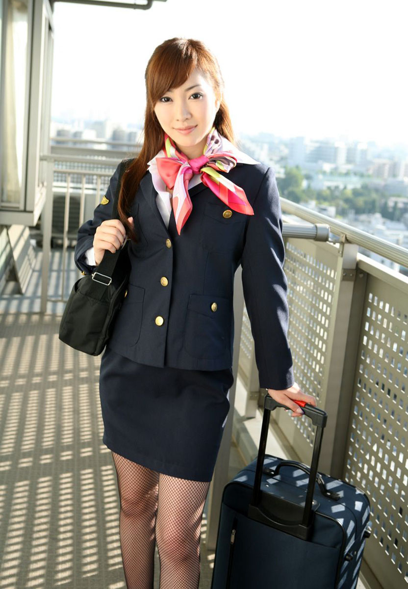 Air stewardess nude