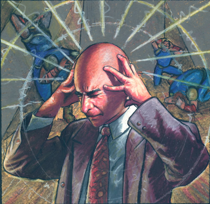 Professor X (Cartoon Picture)
