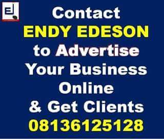 Contact EDESON to Advertise Your Business Online & Get Genuine Clients