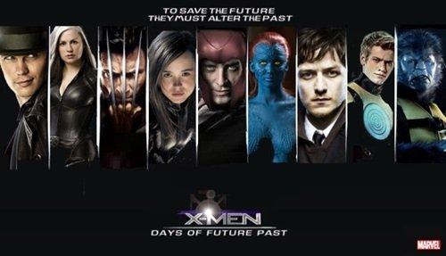 Capa X Men Dias de Um Futuro Esquecido