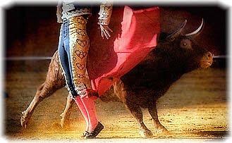 Испанец, матадор, бык