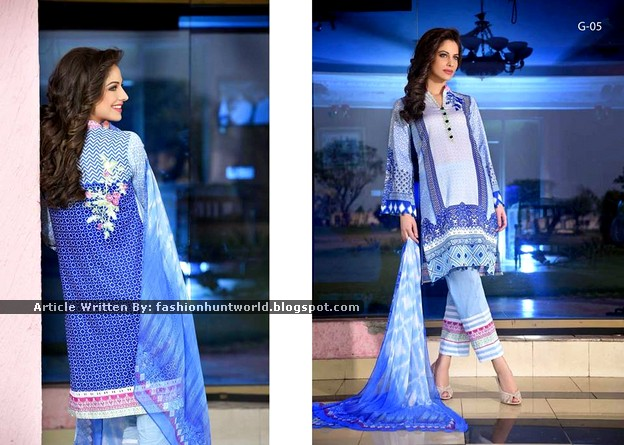 Gohar Lawn Collection 2015-2016 - 02