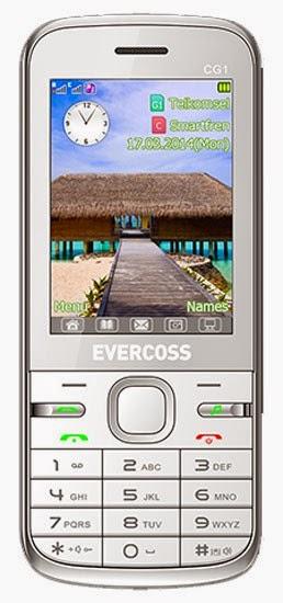 Spesifikasi Handphone Evercoss CG1
