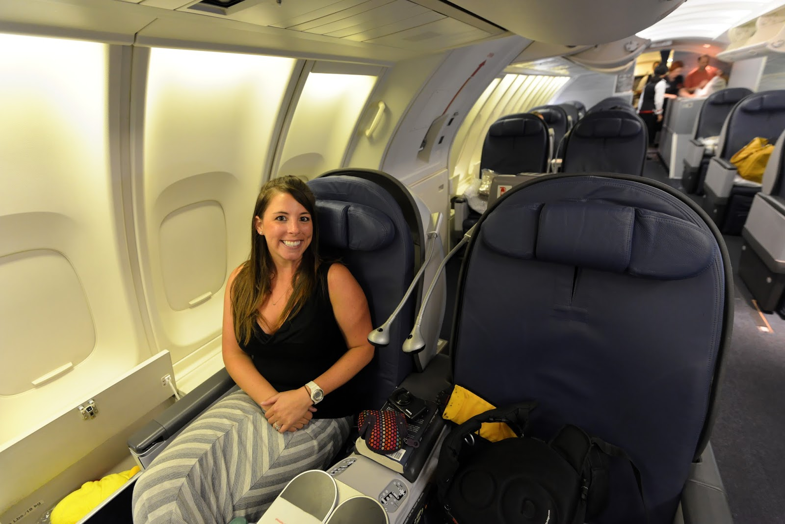 Should Kids Be Banned From First and Business Class