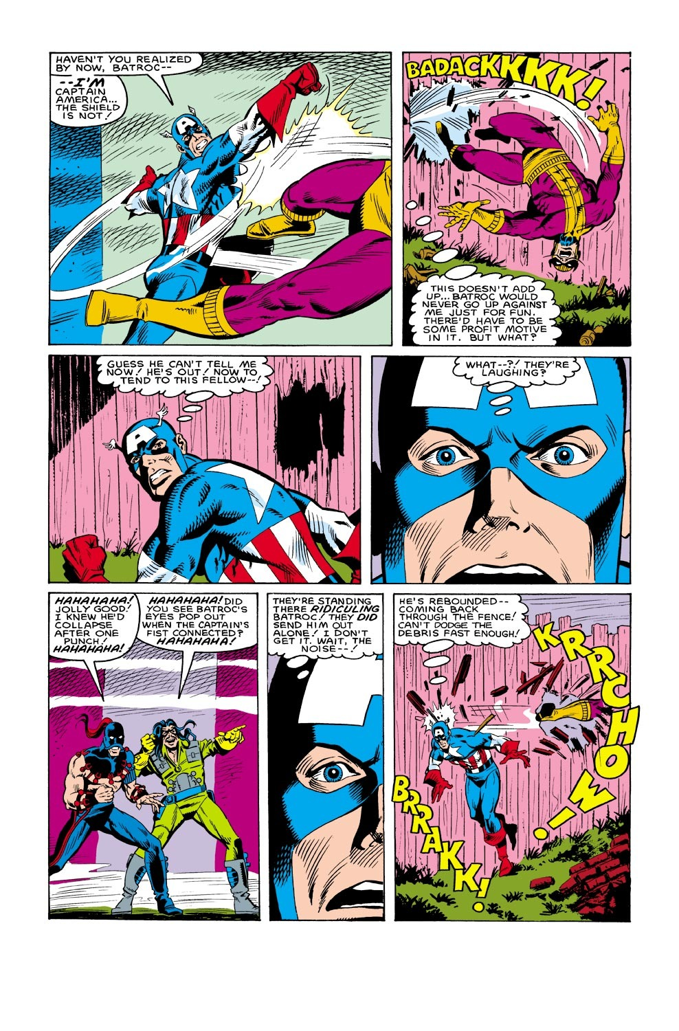 Captain America (1968) Issue #303 #231 - English 18