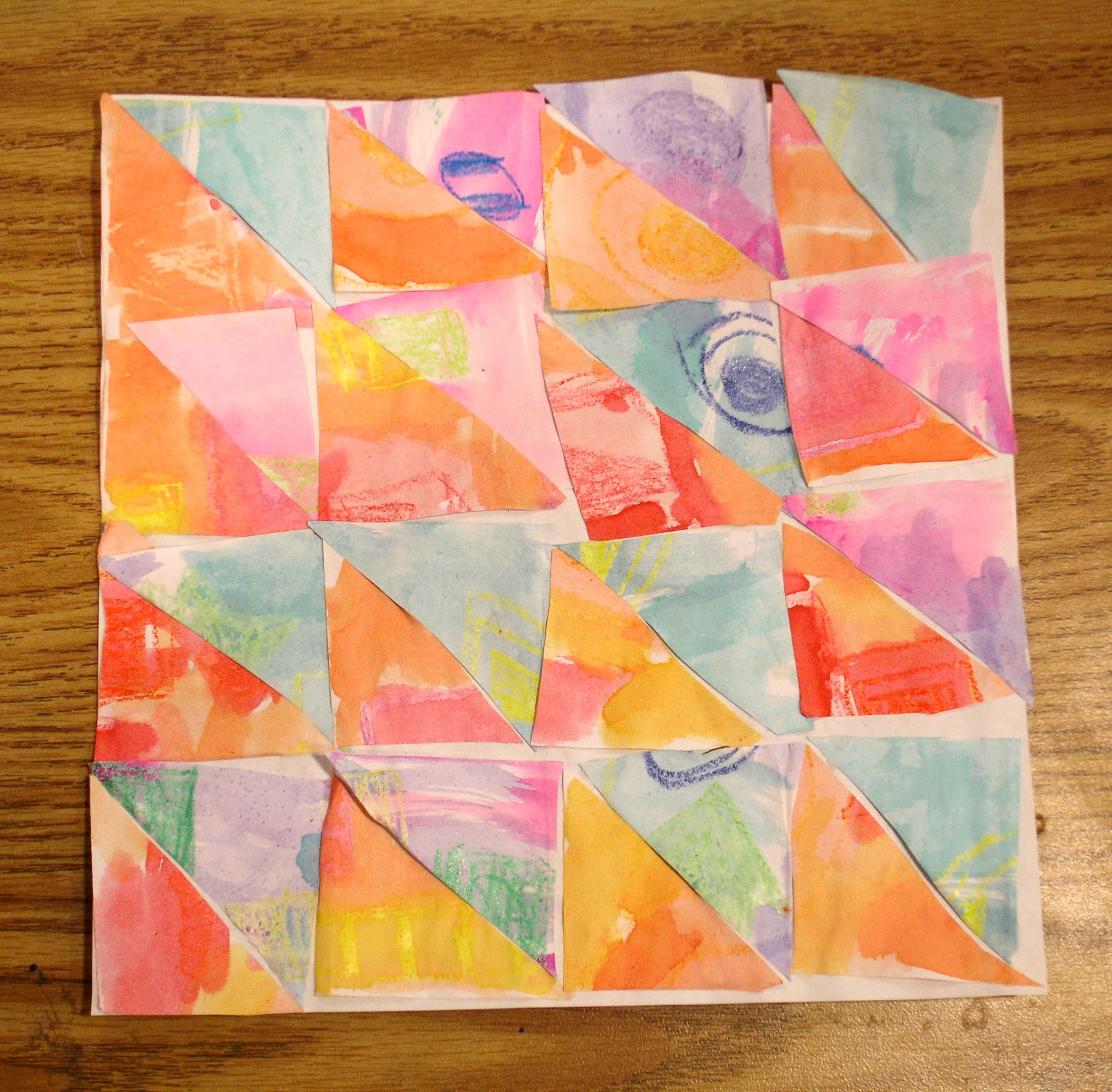 Quilt Patterns On Graph Paper : Ms. Kristen-Crayon Can: Paper Quilt Squares.