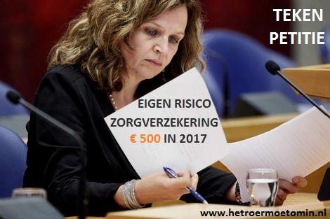 Teken petitie tegen verhoging....