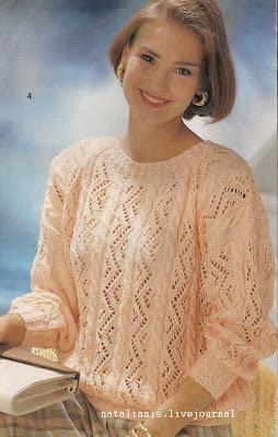 Вязание спицами для женщине модели схемы 195