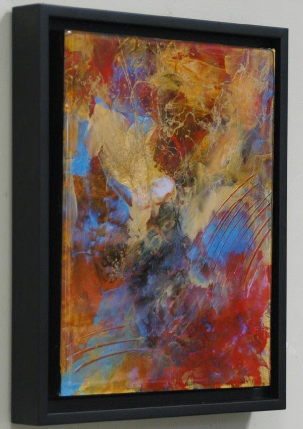 cast acrylic painting by Sandra Duran Wilson