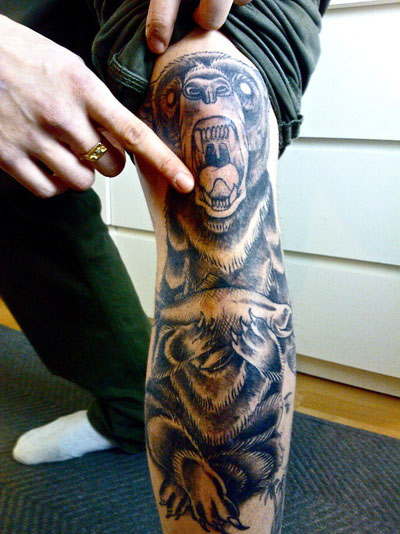 Bear Tattoo