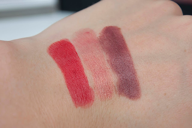 Ultimate Stay Lipsticks Swatches