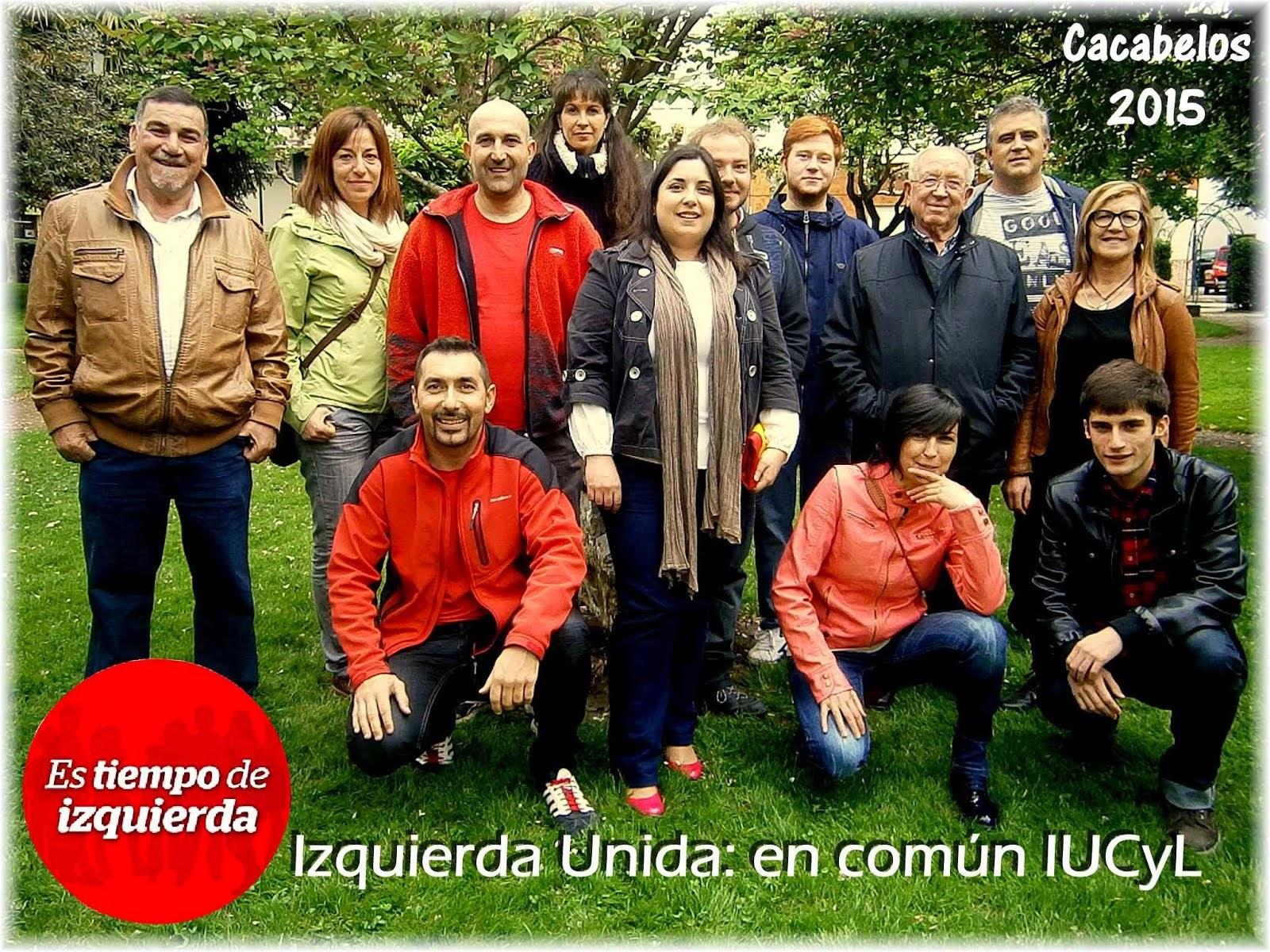 Candidatura IU Cacabelos 2015