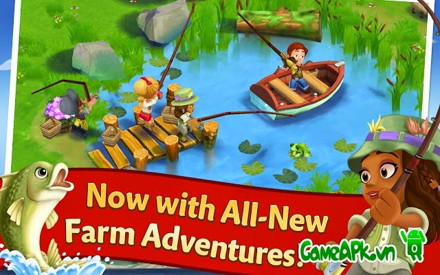 FarmVille 2: Country Escape v2.6.173 hack full keys cho Android