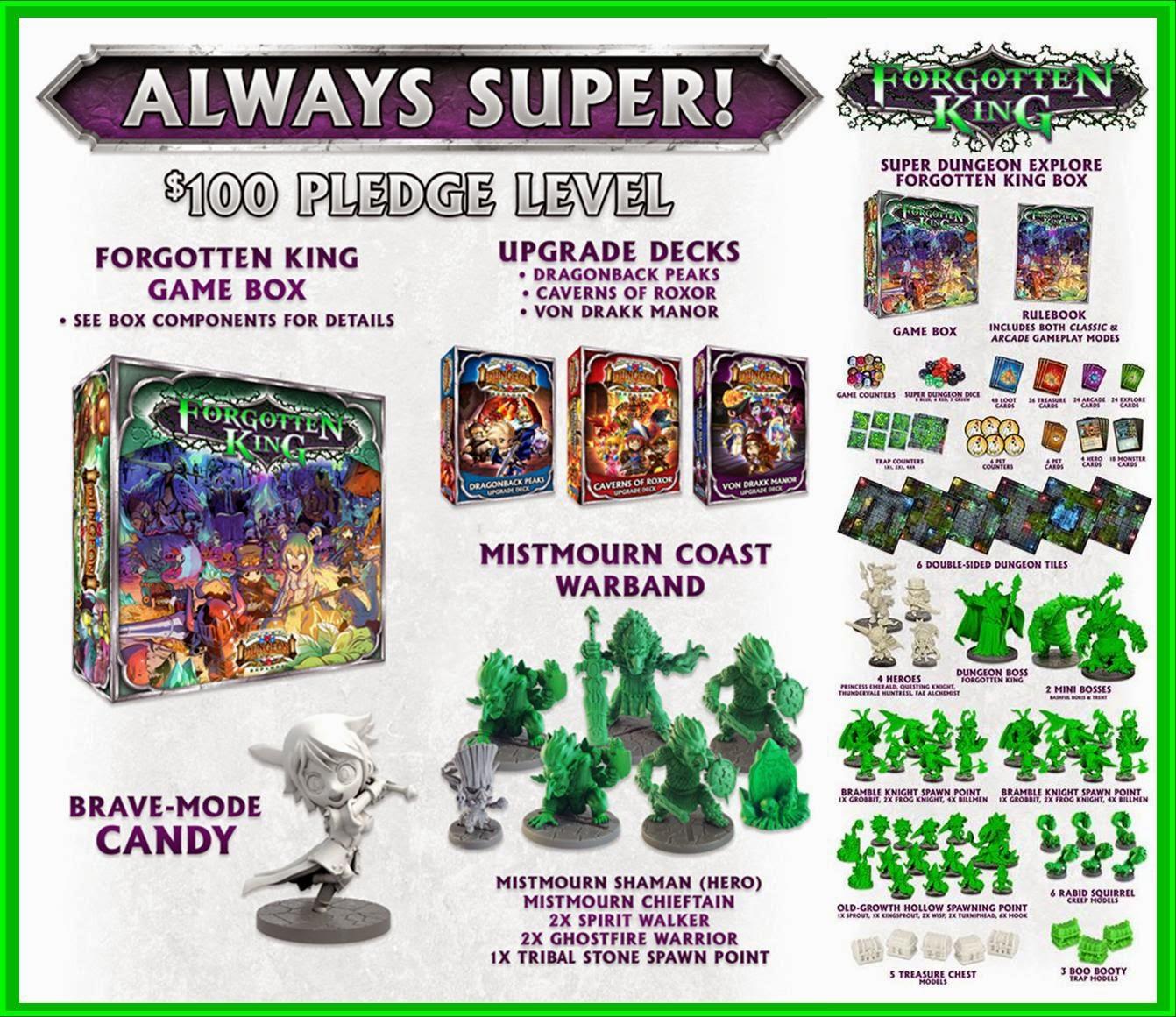 Super Dungeon Explore Forgotten King Kickstarter