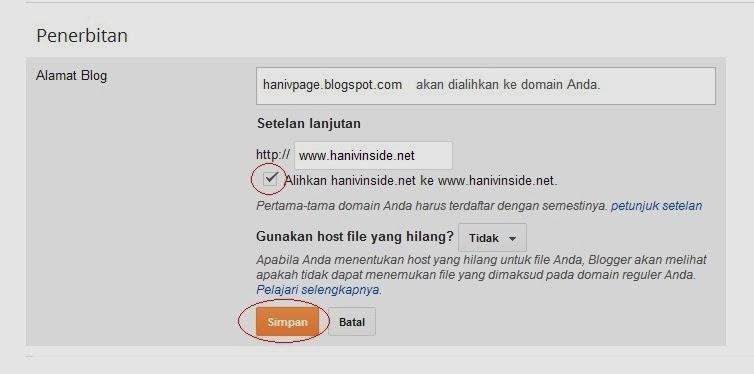 Custom Domain Blogger Tidak Bisa Diakses Tanpa WWW , custom domain ...