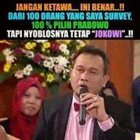 Polling Jokowi Vs Prabowo di Kaskus