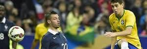 França 1 x 3 Brasil: Veja os gols da partida