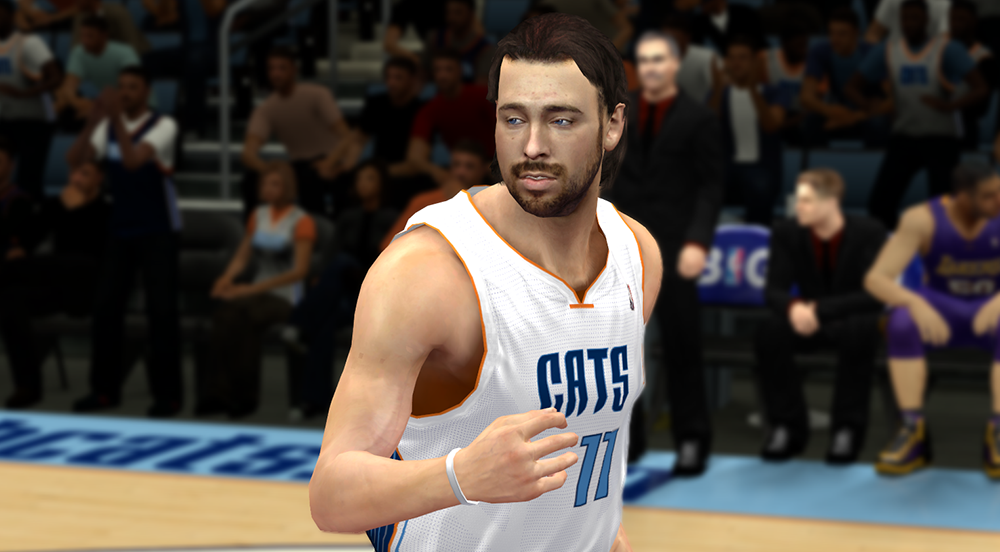 Long Hair Josh McRoberts NBA 2K14 Patch