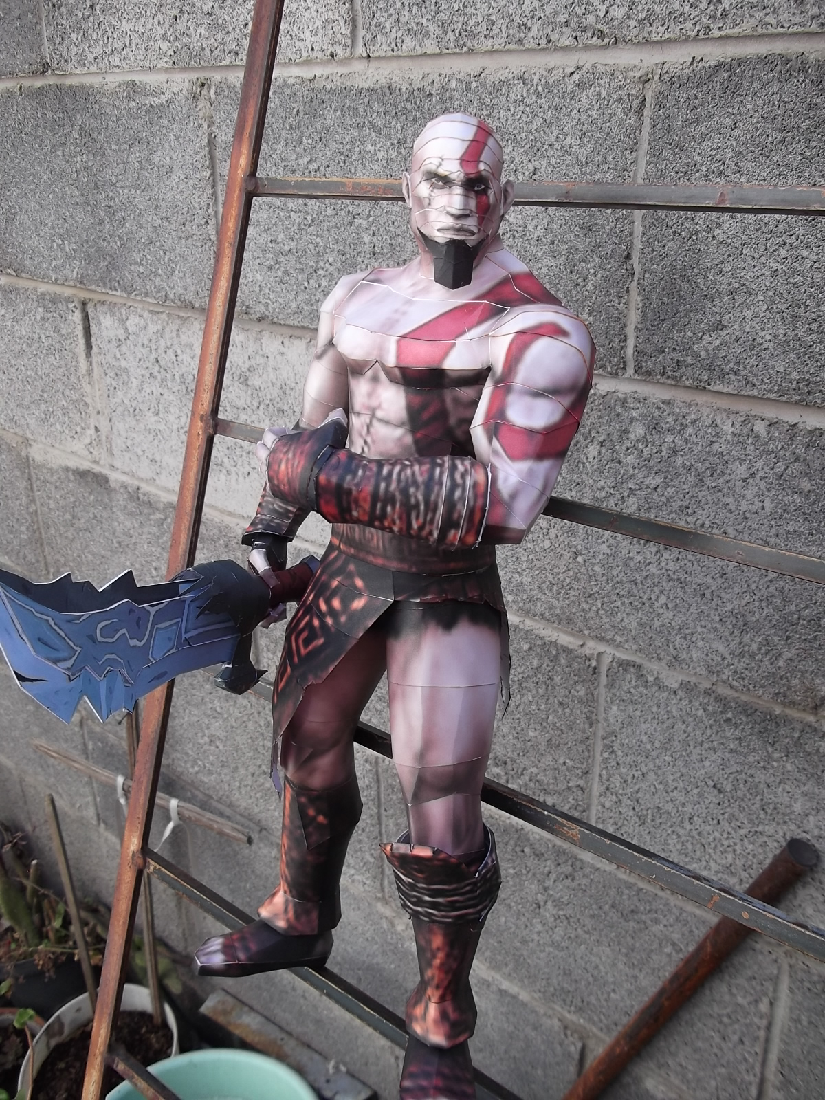 God of War Papercraft - Kratos