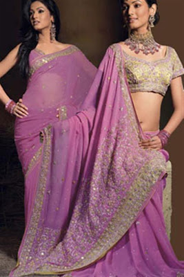 Embroidered Saree Collection