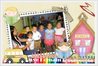 Kiko with his new classmates