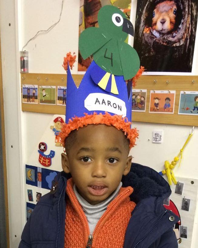 Aaron is 4!!