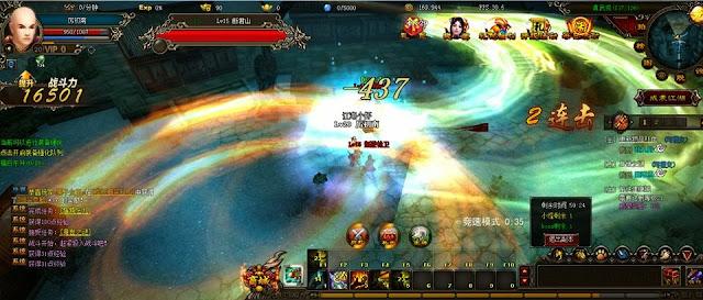 Webgame 3D skill cực khủng của China 1