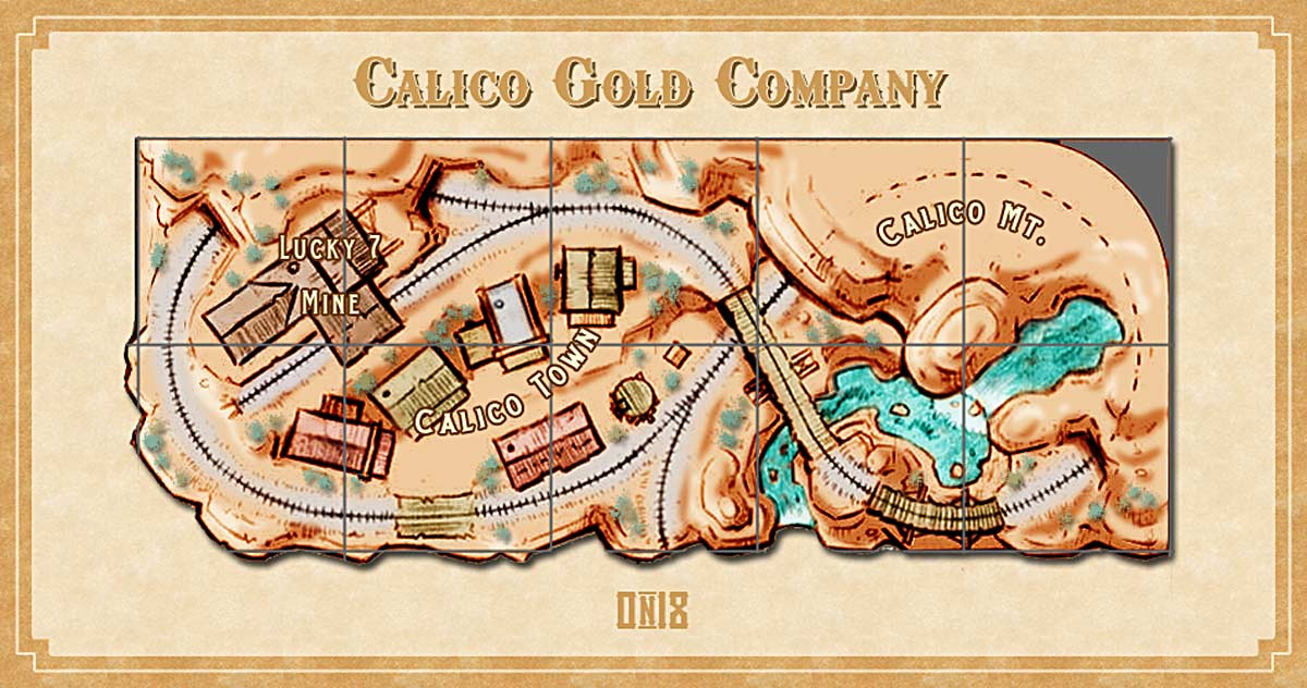 Thunder Mesa Mining Co Planning Calico A Portable On18