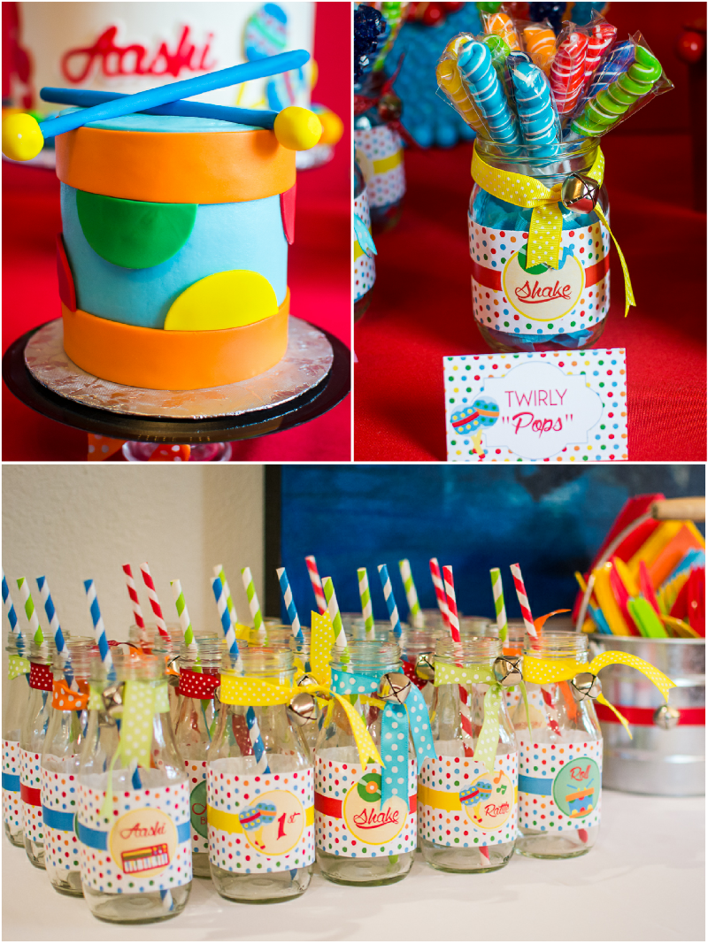 Baby Jam: A Music Inspired 1st Birthday Party Ideas