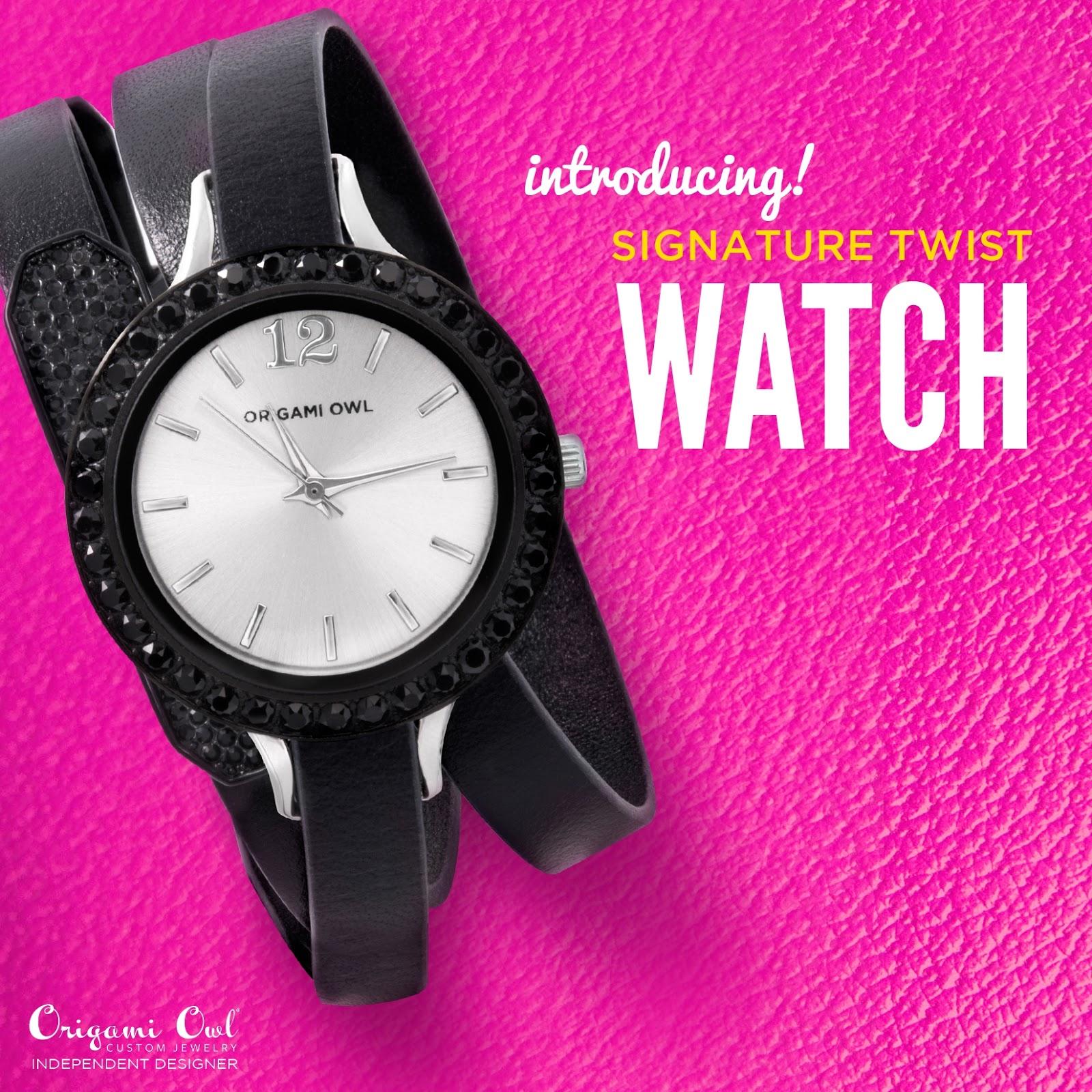 Annes Origami Owl Custom Jewelry Origami Owl Signature Twist Watch