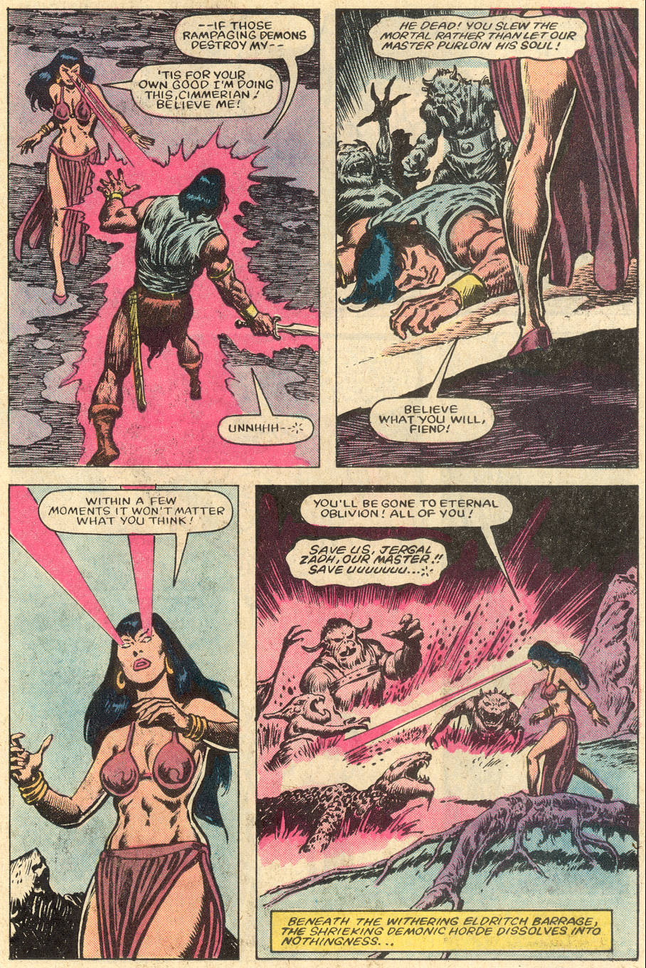 Conan the Barbarian (1970) Issue #152 #164 - English 20