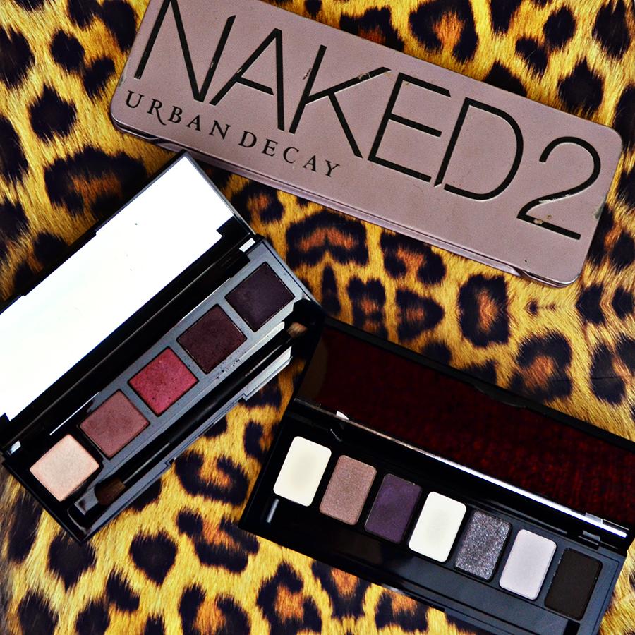 Let's Talk Winter Eye Shadow Palettes. Naked Palette 2. W7 Angel Eyes - Jet Setter. HD Brows Vamp.