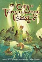 book cover of Cats of Tanglewood Forest by Charles De Lint published by Little Brown