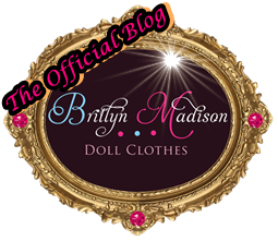 "Britlyn Madison Doll Clothes~Couture 18"" Doll Clothing"