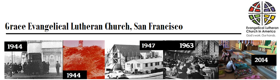 Grace Evangelical Lutheran Church, San Francisco, CA: Pastor Megan Rohrer