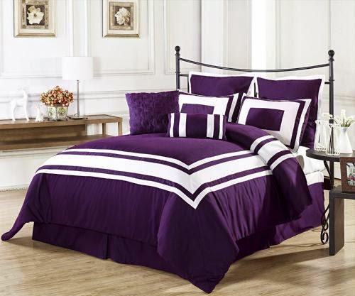 Purple Queen Size Bedding Sets