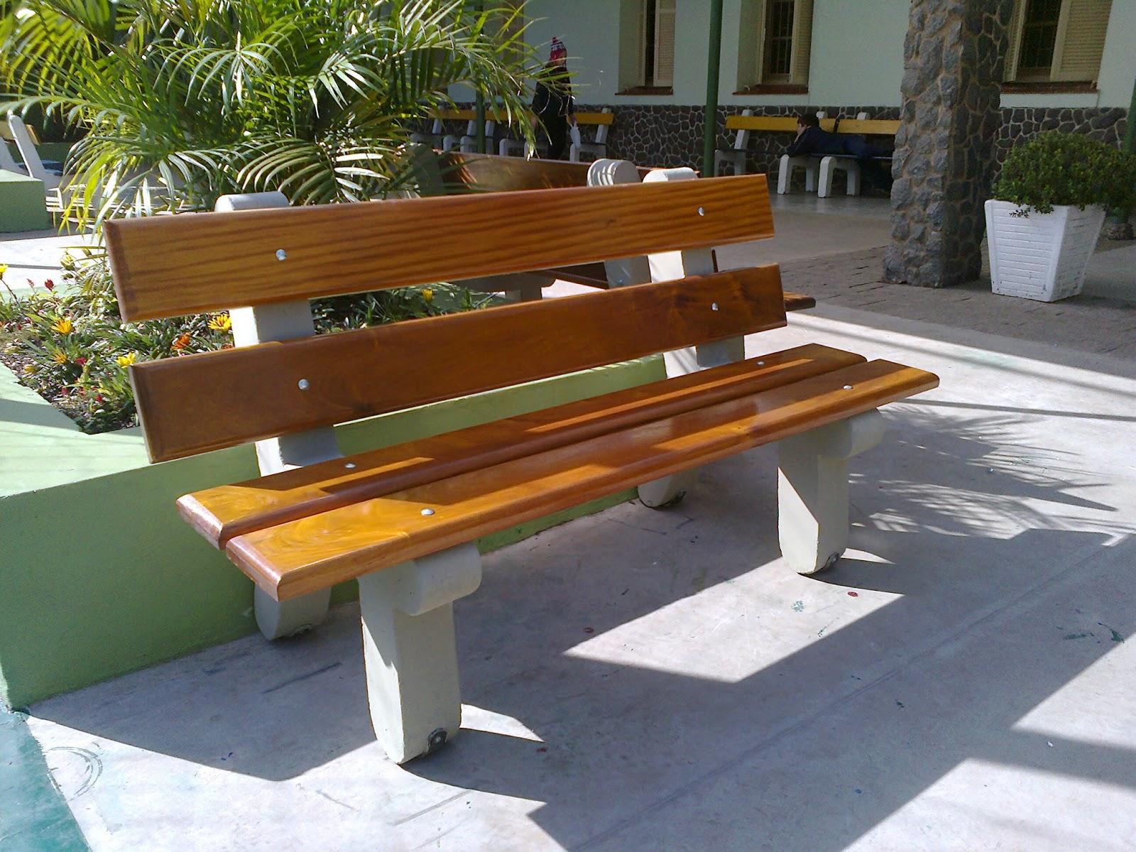 Bancos de jardim Bancos de praça Estrela Garden Paisagismo #A67125 1600x1200