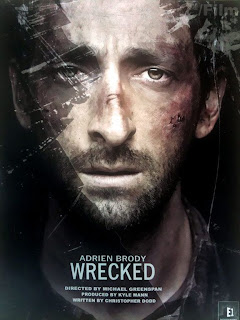 Watch Wrecked 2011 BRRip Hollywood Movie Online | Wrecked 2011 Hollywood Movie Poster