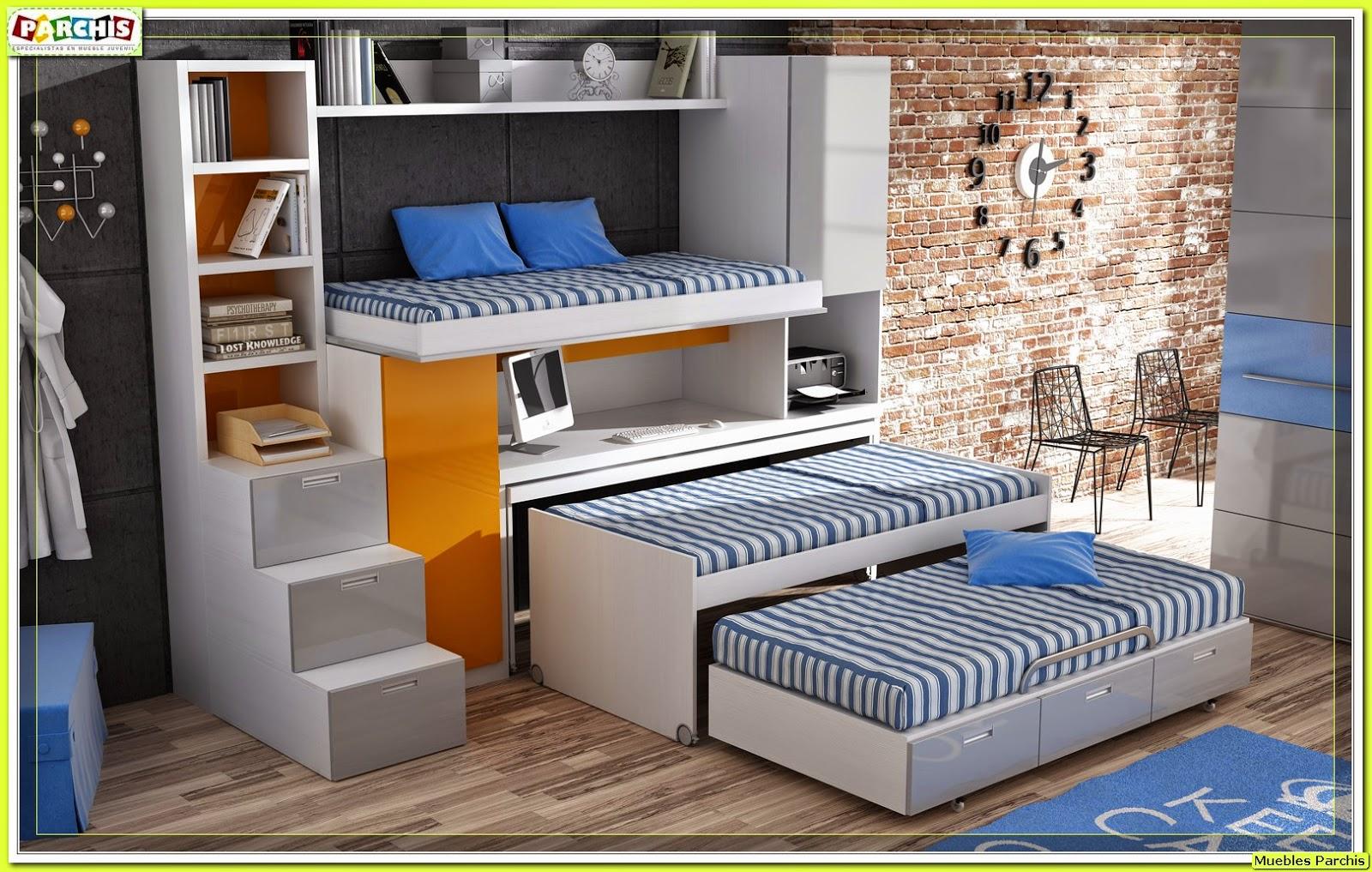 Muebles juveniles dormitorios infantiles y habitaciones for Muebles modulares para dormitorios juveniles